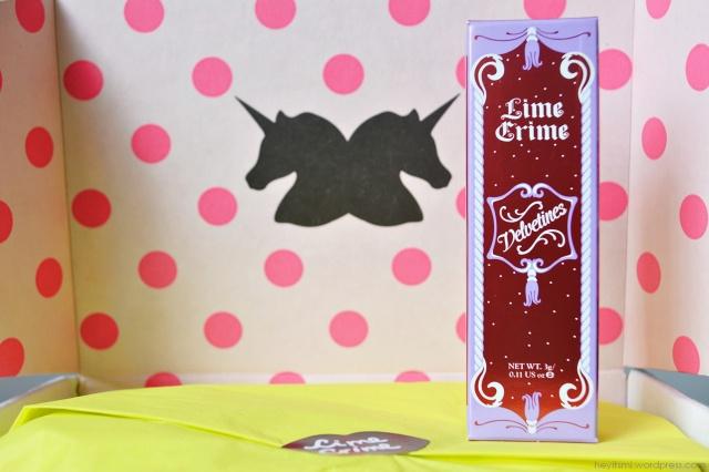 caixinha lime crime